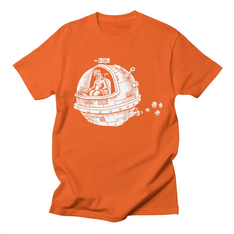 Spacefaring Yeti is in Space Men's T-Shirt by Anthony Woodward's Artist Shop