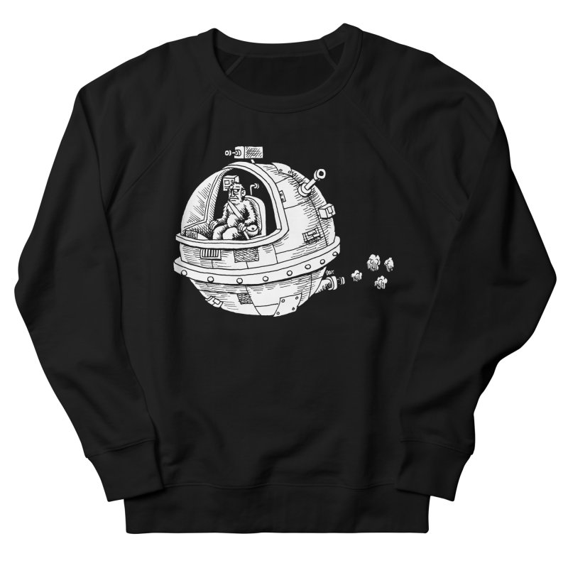 Spacefaring Yeti is in Space Women's Sweatshirt by Anthony Woodward's Artist Shop