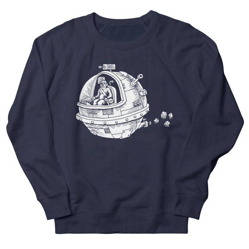 Spacefaring Yeti is in Space Women's Sweatshirt by Anthony Woodward's Artist Shop