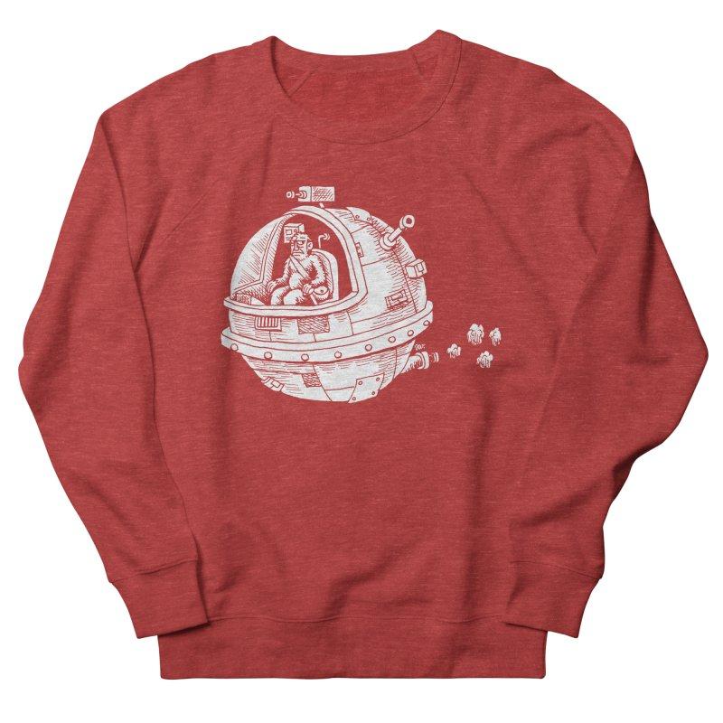 Spacefaring Yeti is in Space Men's Sweatshirt by Anthony Woodward's Artist Shop
