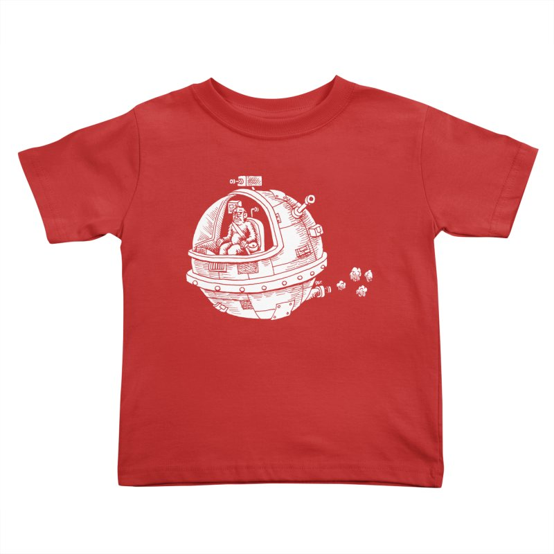 Spacefaring Yeti is in Space Kids Toddler T-Shirt by Anthony Woodward's Artist Shop