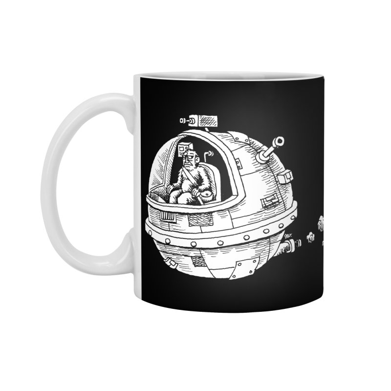 Spacefaring Yeti is in Space Accessories Mug by Anthony Woodward's Artist Shop