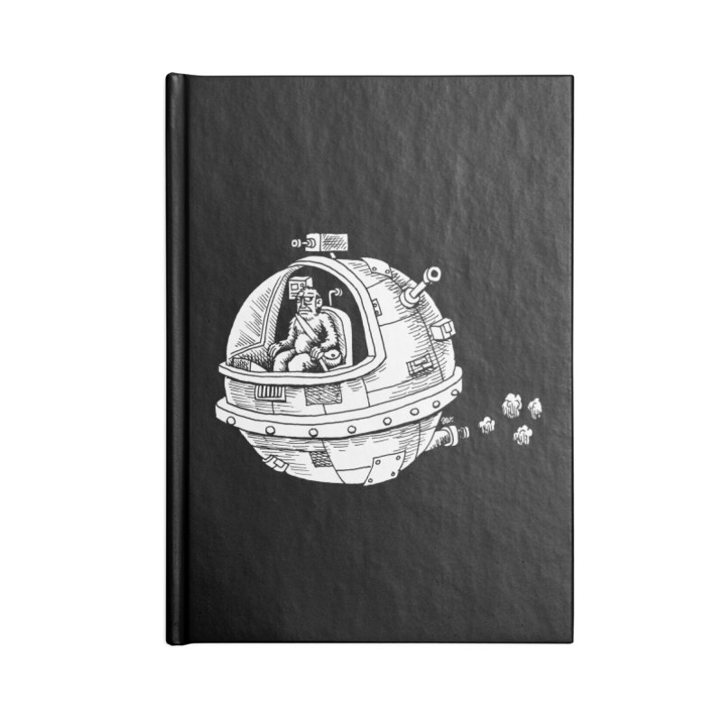 Spacefaring Yeti is in Space Accessories Notebook by Anthony Woodward's Artist Shop