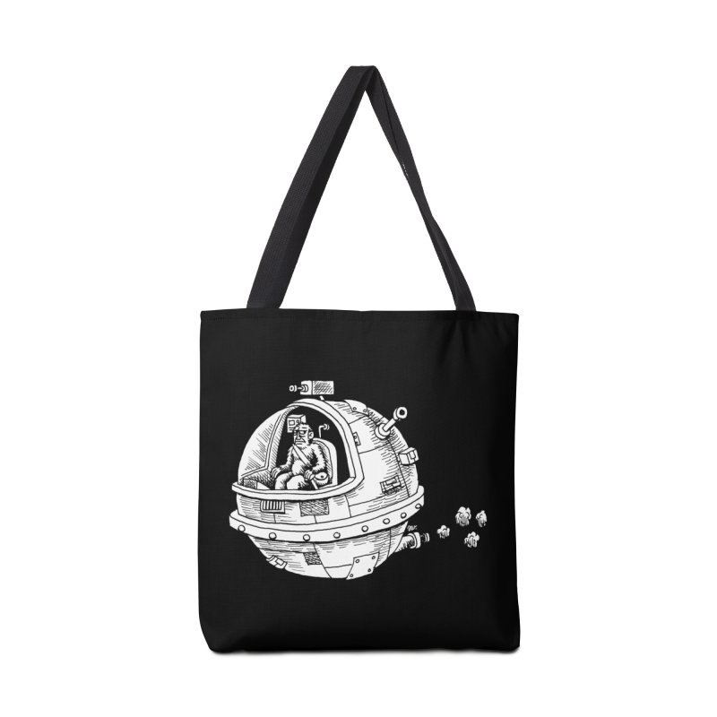 Spacefaring Yeti is in Space Accessories Bag by Anthony Woodward's Artist Shop