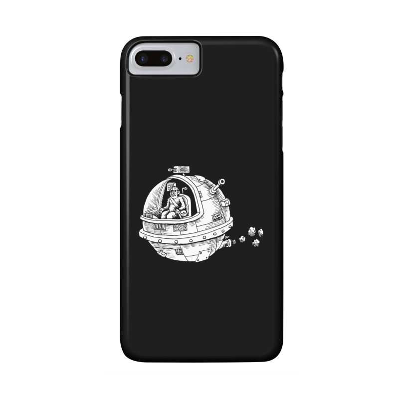 Spacefaring Yeti is in Space Accessories Phone Case by Anthony Woodward's Artist Shop