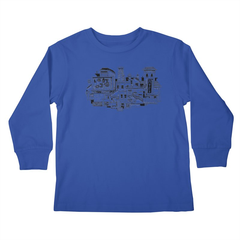 New Town Kids Longsleeve T-Shirt by Anthony Woodward's Artist Shop