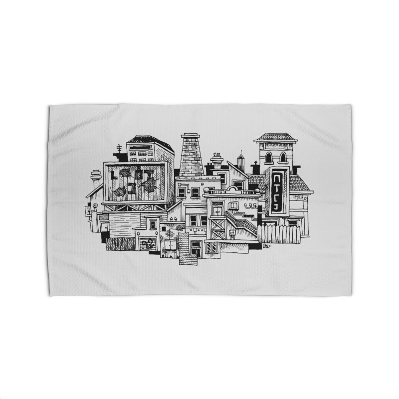 New Town Home Rug by Anthony Woodward's Artist Shop