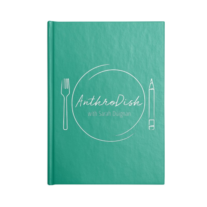 AnthroDish Logo Shirt Accessories Notebook by AnthroDish's Artist Shop