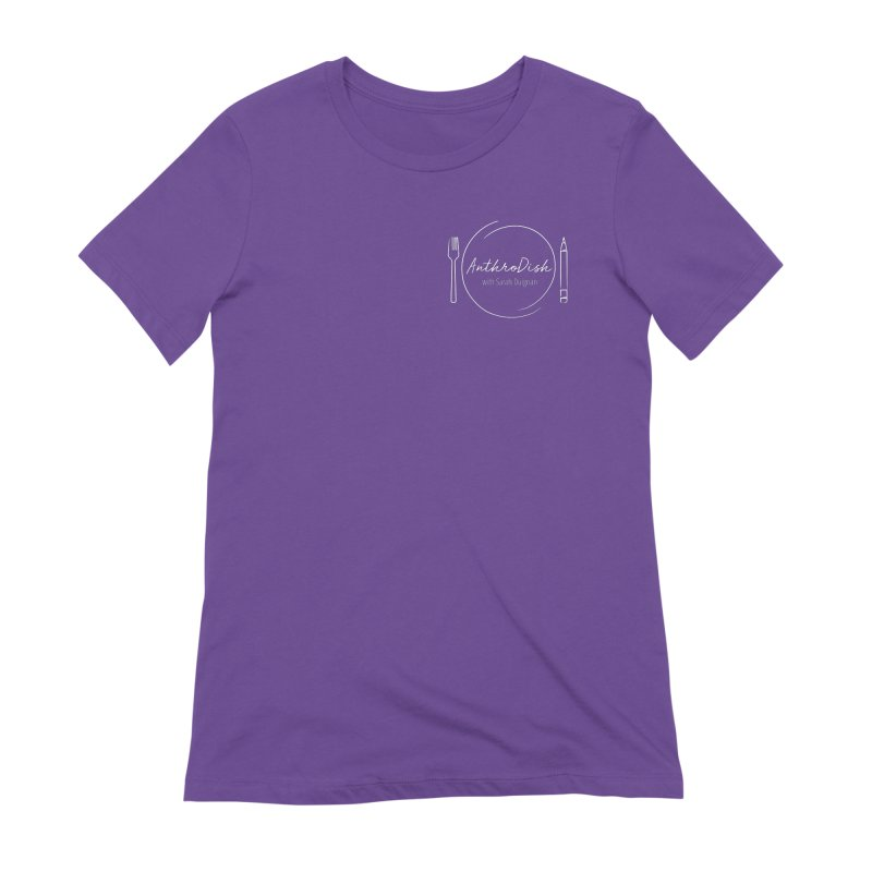 AnthroDish Logo Shirt Women's Extra Soft T-Shirt by AnthroDish's Artist Shop