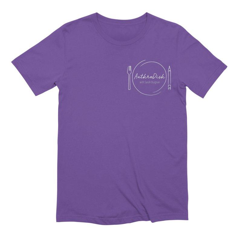 AnthroDish Logo Shirt Men's Extra Soft T-Shirt by AnthroDish's Artist Shop