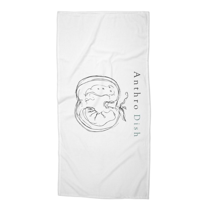 AnthroDish Izzy Tomato Accessories Beach Towel by AnthroDish's Artist Shop