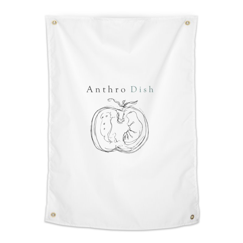 AnthroDish Izzy Tomato Home Tapestry by AnthroDish's Artist Shop