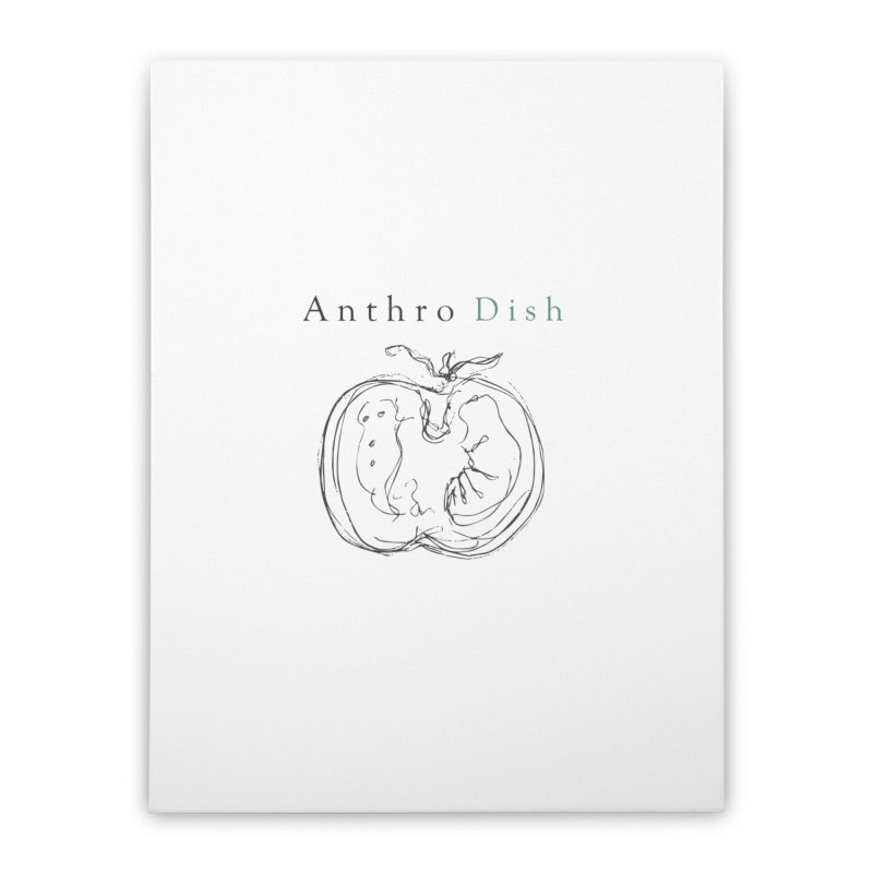 AnthroDish Izzy Tomato Home Stretched Canvas by AnthroDish's Artist Shop