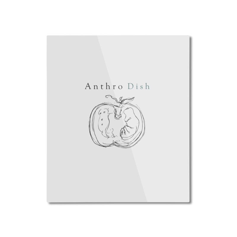AnthroDish Izzy Tomato Home Mounted Aluminum Print by AnthroDish's Artist Shop