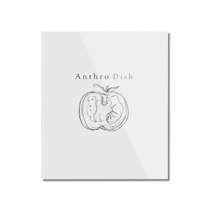 AnthroDish Izzy Tomato Home Mounted Acrylic Print by AnthroDish's Artist Shop