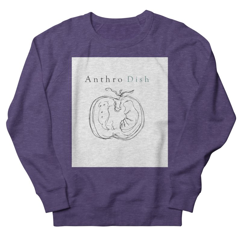 AnthroDish Izzy Tomato Women's French Terry Sweatshirt by AnthroDish's Artist Shop