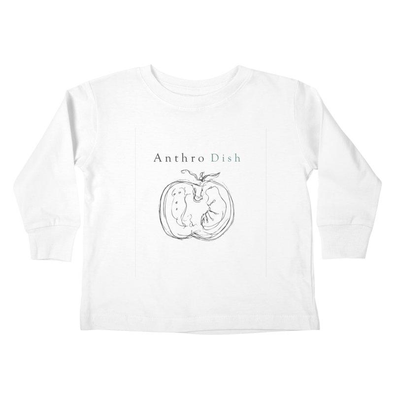 AnthroDish Izzy Tomato Kids Toddler Longsleeve T-Shirt by AnthroDish's Artist Shop
