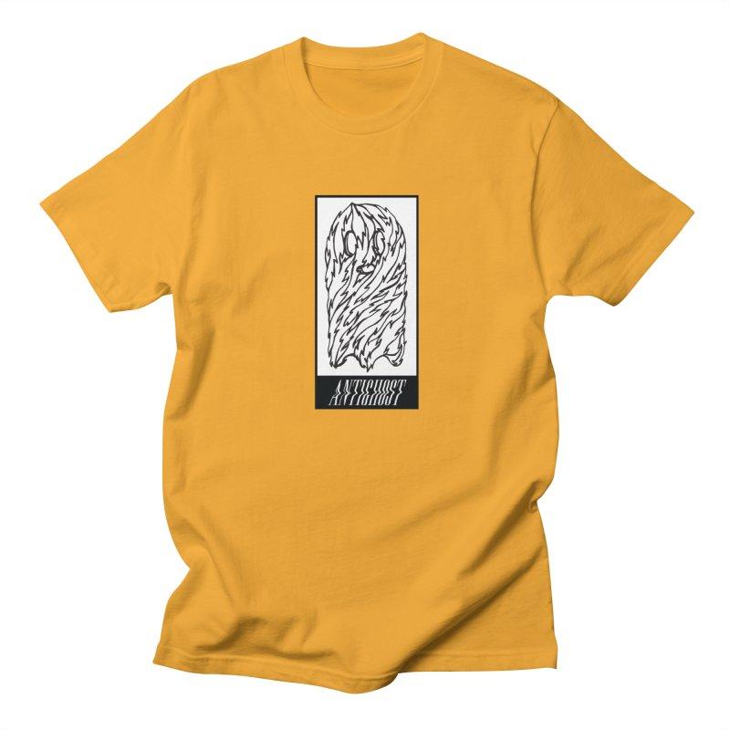 Tattered Ghost in Men's Regular T-Shirt Gold by antighostmusic's Artist Shop