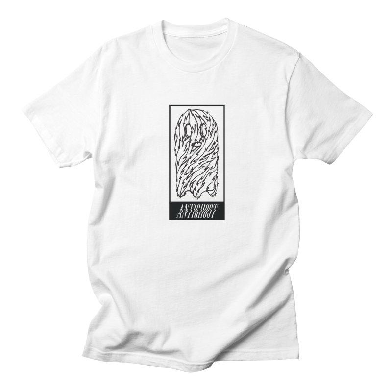 Tattered Ghost in Men's Regular T-Shirt White by antighostmusic's Artist Shop