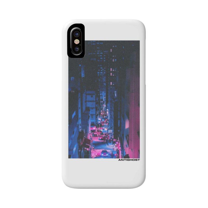 Animal Alley in iPhone X / XS Phone Case Slim by antighostmusic's Artist Shop