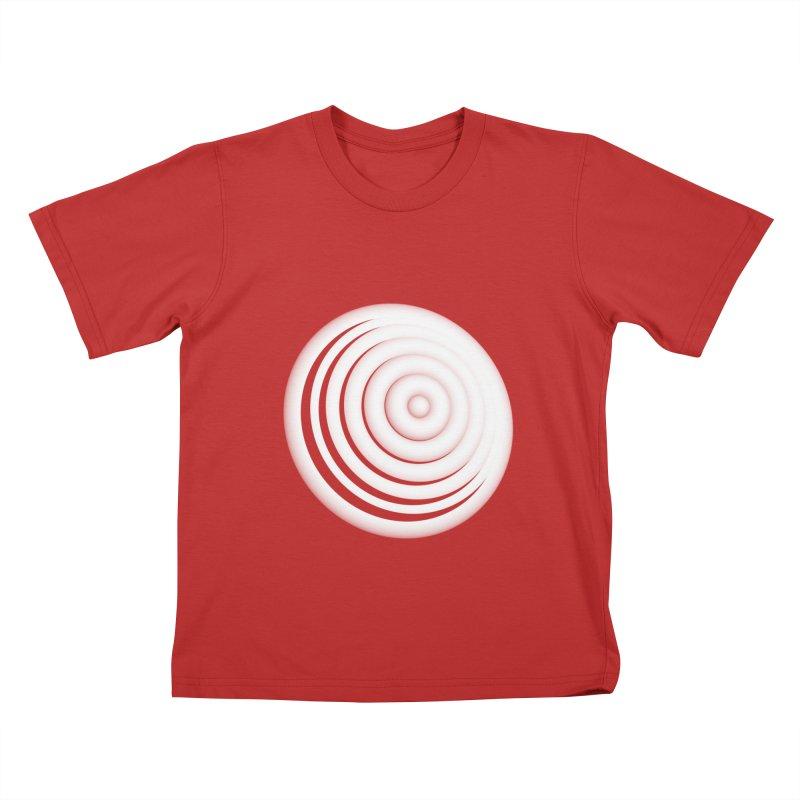 Blast Thru Speaker Kids T-shirt by antlerland's Artist Shop