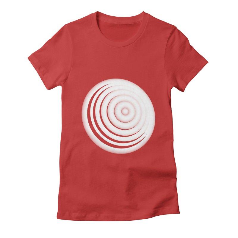 Blast Thru Speaker Women's Fitted T-Shirt by antlerland's Artist Shop
