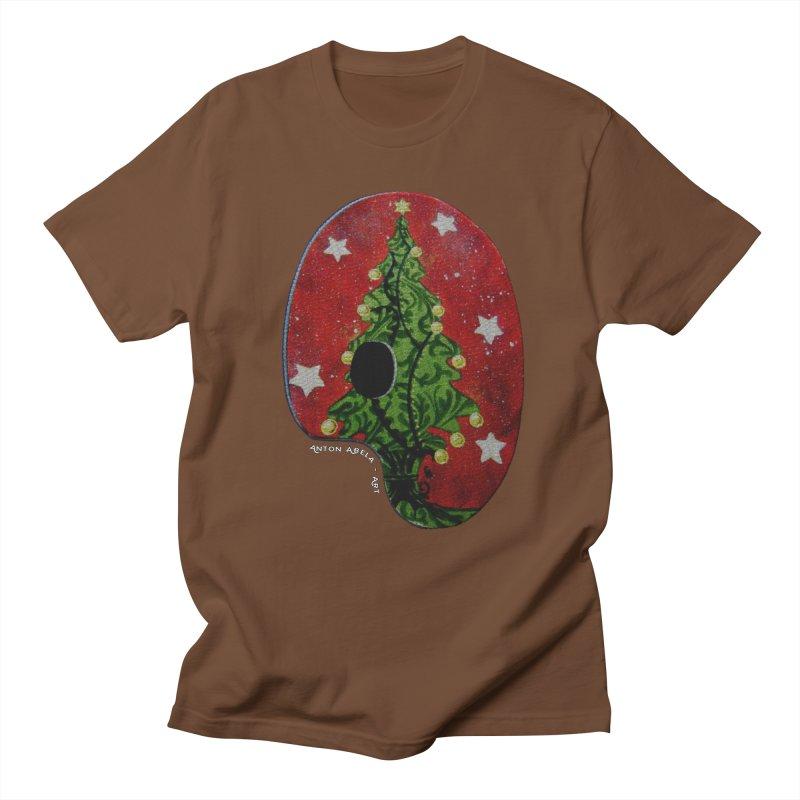 Xmas Palette Women's Unisex T-Shirt by AntonAbela-Art's Artist Shop