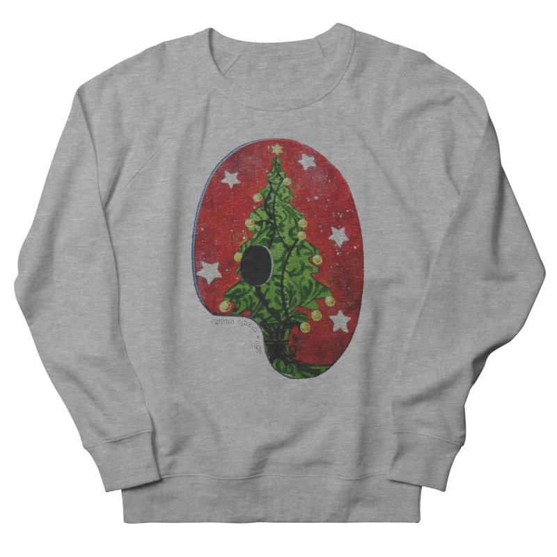 Xmas Palette Women's Sweatshirt by AntonAbela-Art's Artist Shop