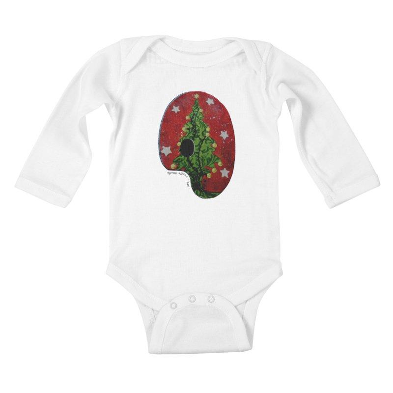 Xmas Palette Kids Baby Longsleeve Bodysuit by AntonAbela-Art's Artist Shop