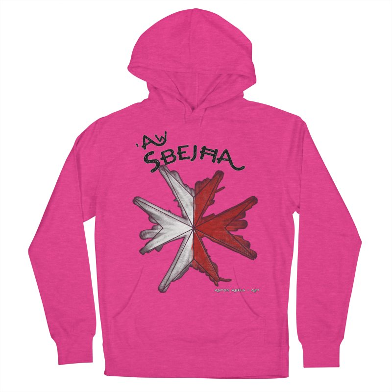 'Aw Sbejћa = Hey Beautiful (Maltese - female ref.) Men's Pullover Hoody by AntonAbela-Art's Artist Shop