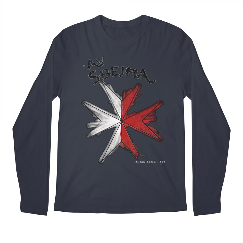 'Aw Sbejћa = Hey Beautiful (Maltese - female ref.) Men's Longsleeve T-Shirt by AntonAbela-Art's Artist Shop
