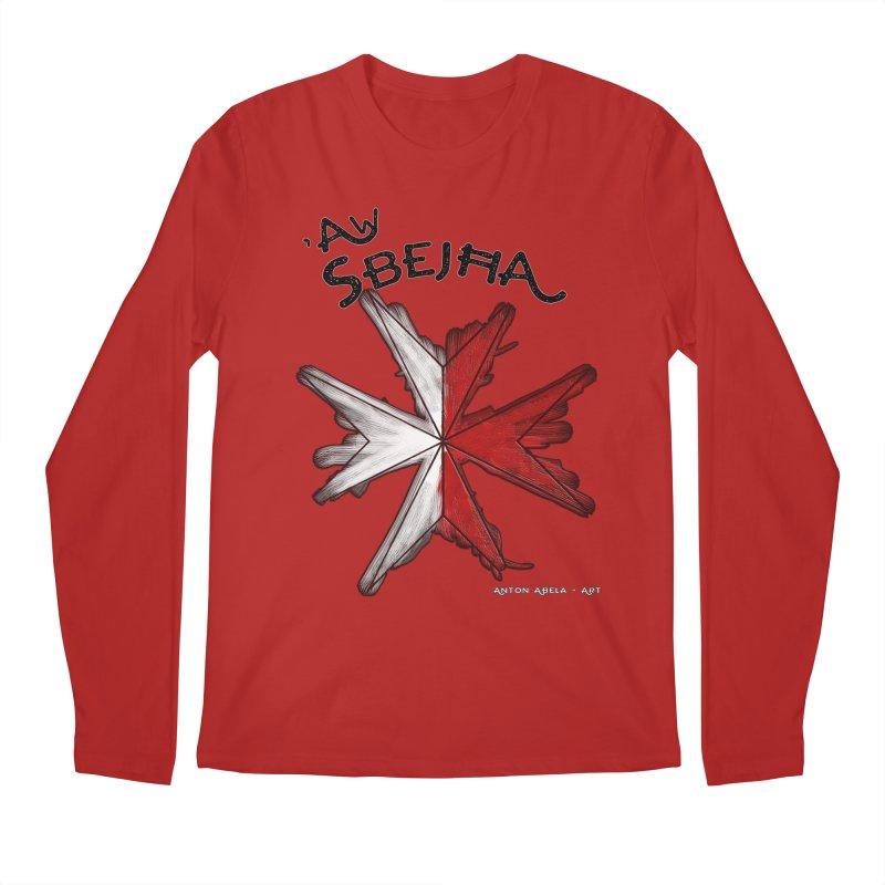 'Aw Sbeћja = Hey Beautiful (Maltese - female ref.) Men's Longsleeve T-Shirt by AntonAbela-Art's Artist Shop