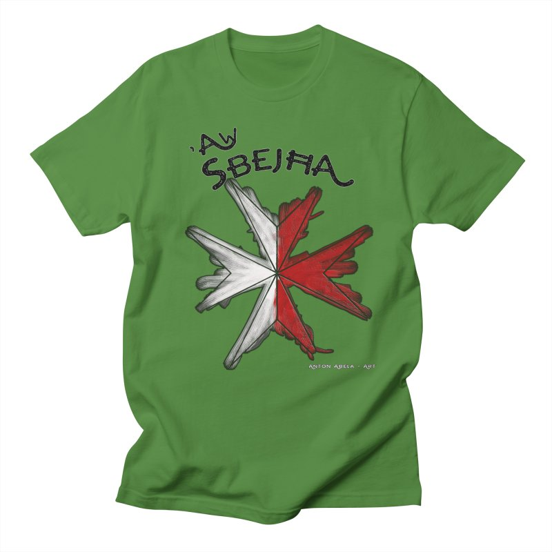 'Aw Sbeћja = Hey Beautiful (Maltese - female ref.) Men's T-shirt by AntonAbela-Art's Artist Shop