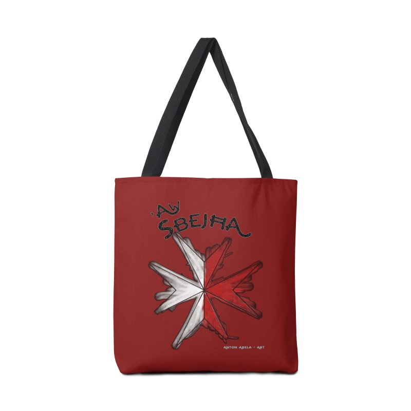 'Aw Sbeћja = Hey Beautiful (Maltese - female ref.) Accessories Bag by AntonAbela-Art's Artist Shop