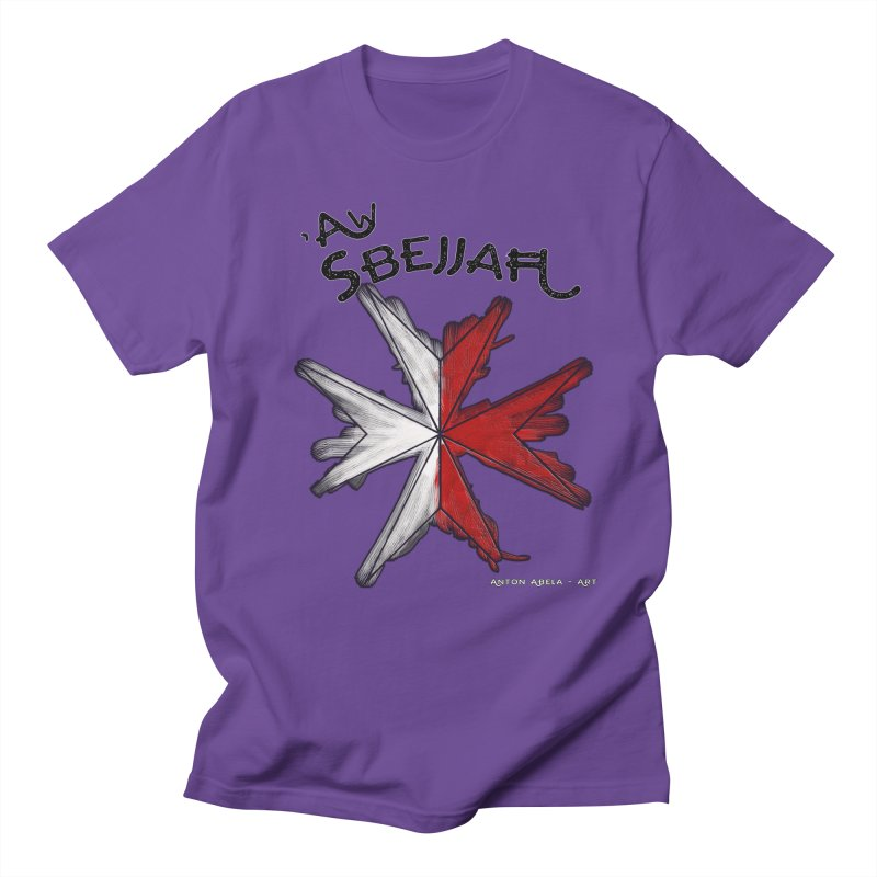 'Aw Sbejjaћ = Hey Beautiful (Maltese - male ref.) Women's Unisex T-Shirt by AntonAbela-Art's Artist Shop