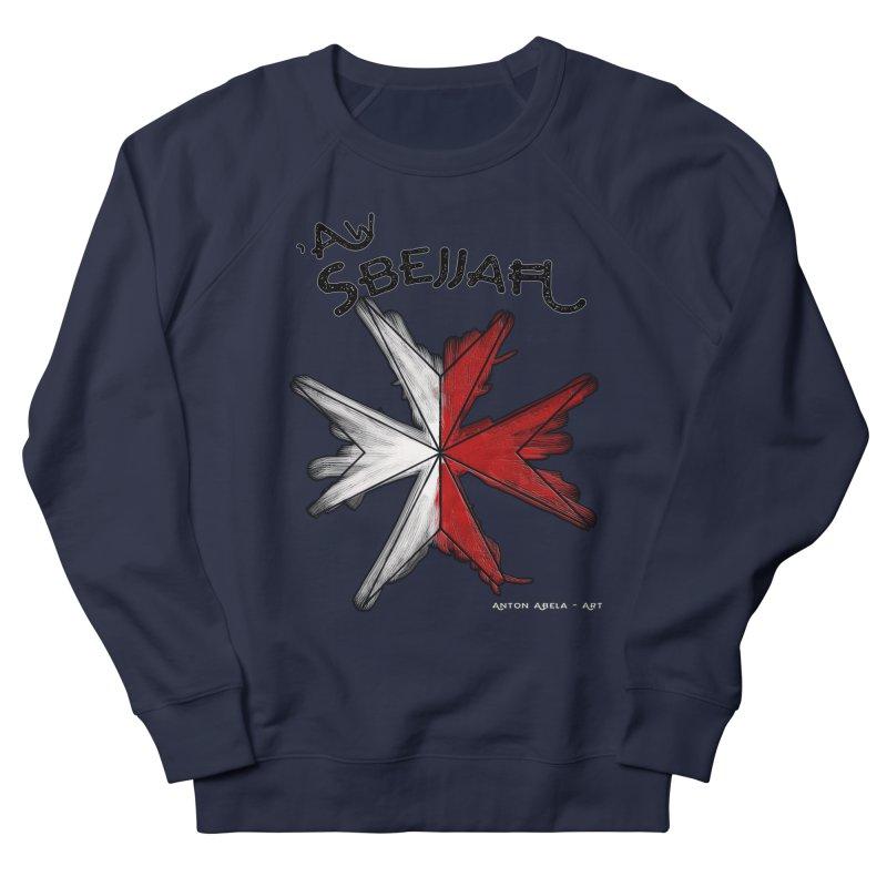 'Aw Sbejjaћ = Hey Beautiful (Maltese - male ref.) Men's Sweatshirt by AntonAbela-Art's Artist Shop