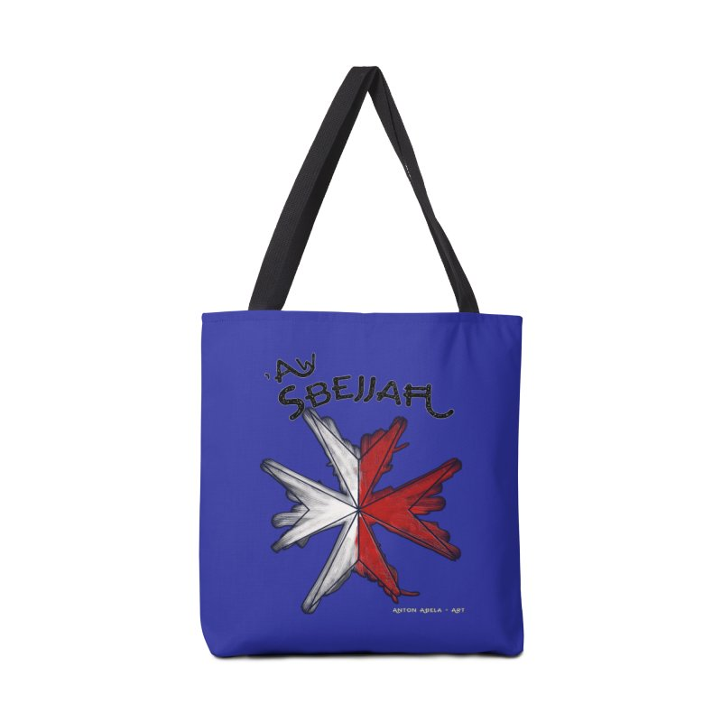'Aw Sbejjaћ = Hey Beautiful (Maltese - male ref.) Accessories Tote Bag Bag by AntonAbela-Art's Artist Shop