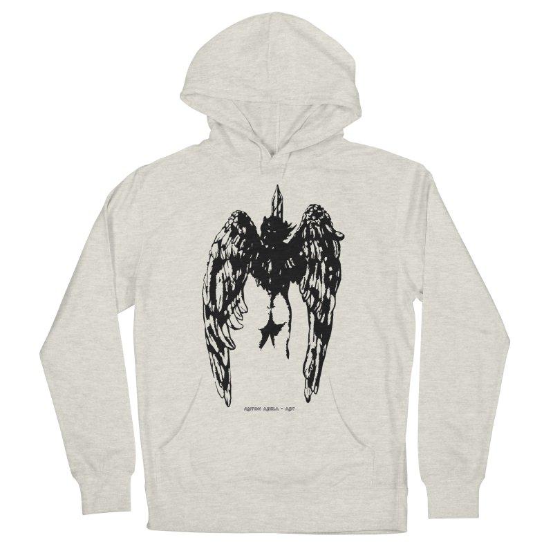 Battle Angel Men's Pullover Hoody by AntonAbela-Art's Artist Shop