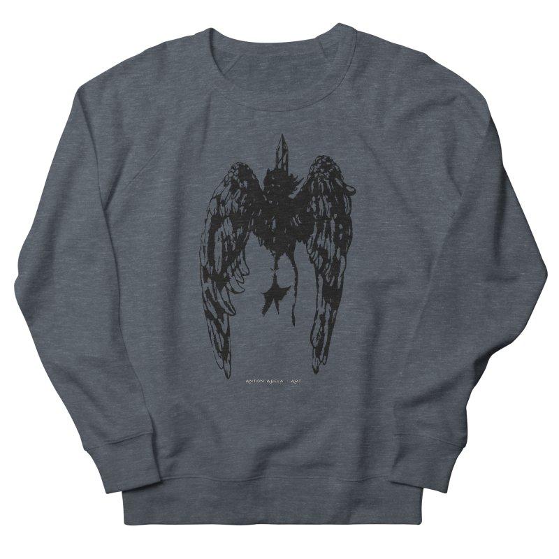 Battle Angel Men's Sweatshirt by AntonAbela-Art's Artist Shop
