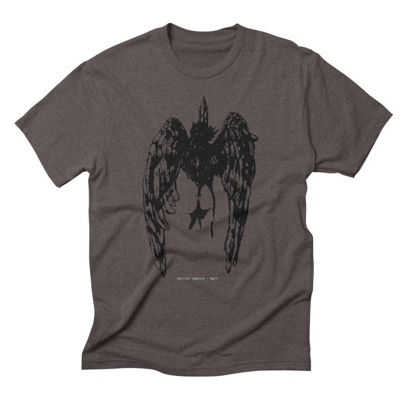 Battle Angel Men's Triblend T-shirt by AntonAbela-Art's Artist Shop