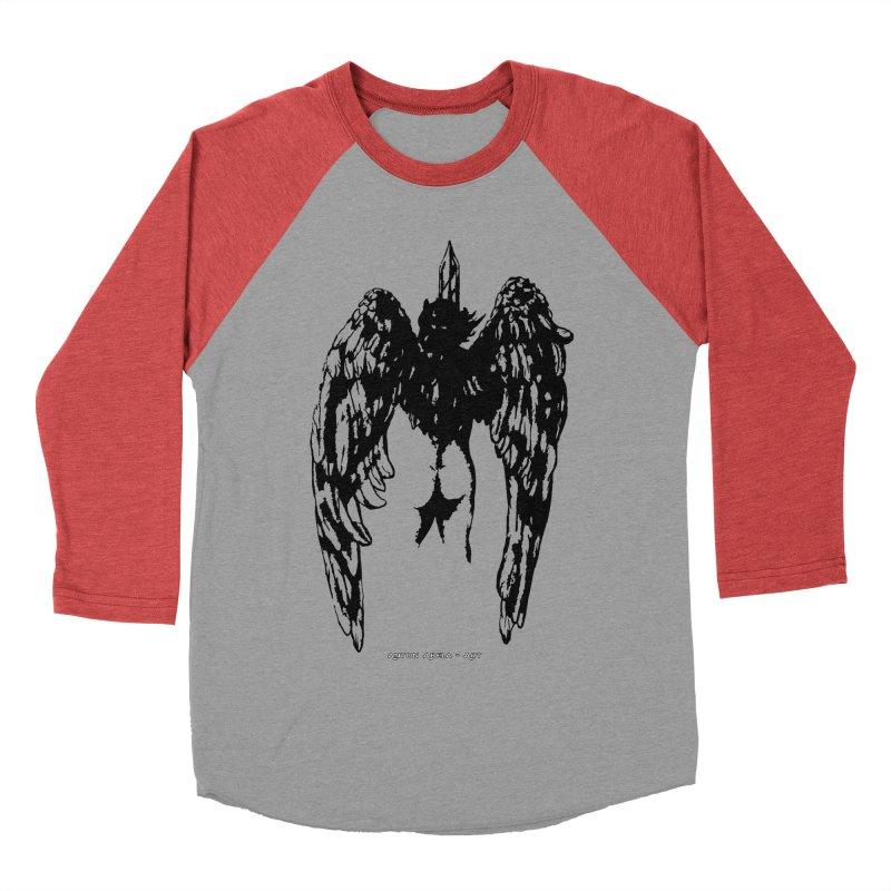 Battle Angel Women's Baseball Triblend T-Shirt by AntonAbela-Art's Artist Shop