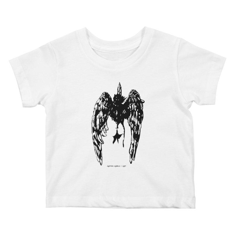 Battle Angel Kids Baby T-Shirt by AntonAbela-Art's Artist Shop