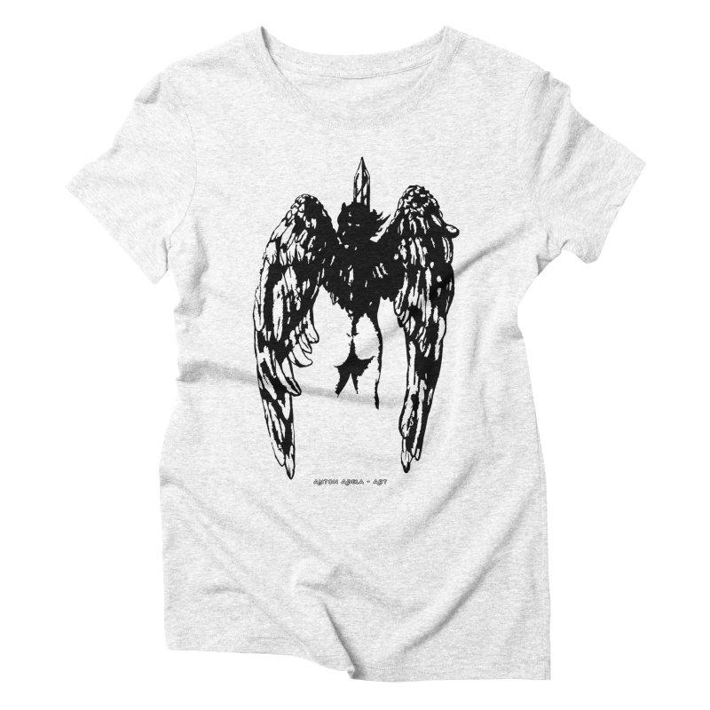 Battle Angel Women's Triblend T-shirt by AntonAbela-Art's Artist Shop