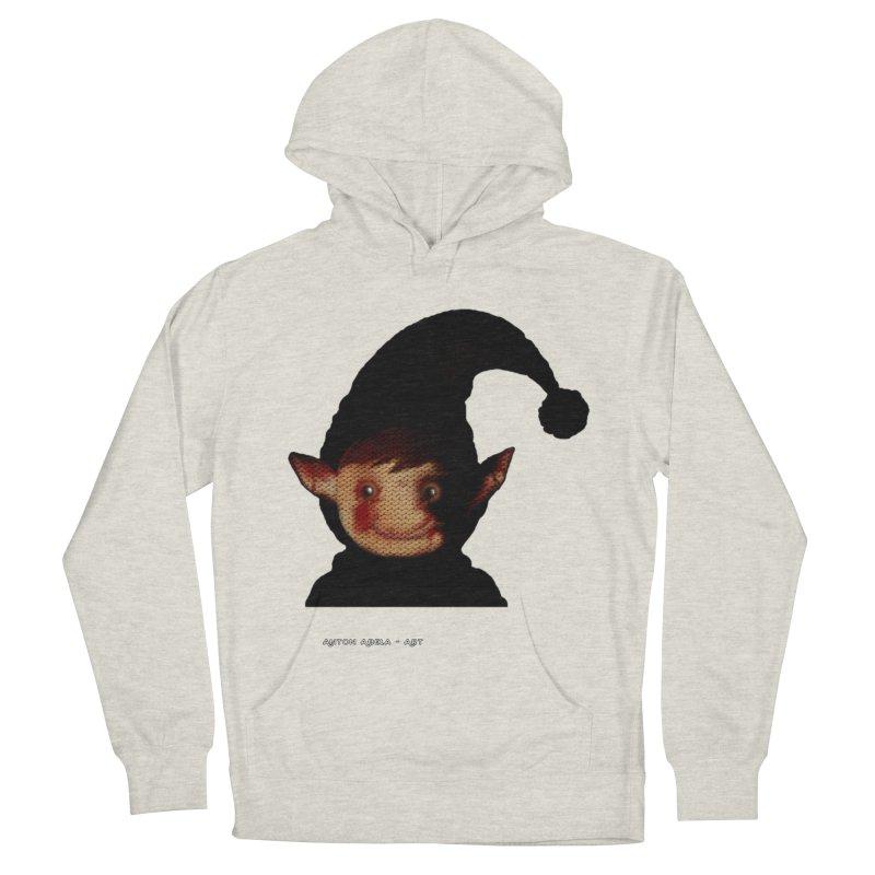 Bloody Dark Xmas Women's Pullover Hoody by AntonAbela-Art's Artist Shop