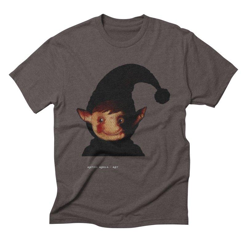 Bloody Dark Xmas Men's Triblend T-shirt by AntonAbela-Art's Artist Shop