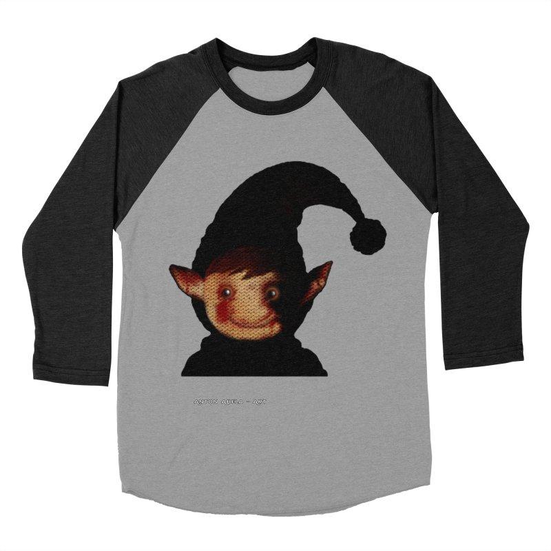 Bloody Dark Xmas Men's Baseball Triblend T-Shirt by AntonAbela-Art's Artist Shop