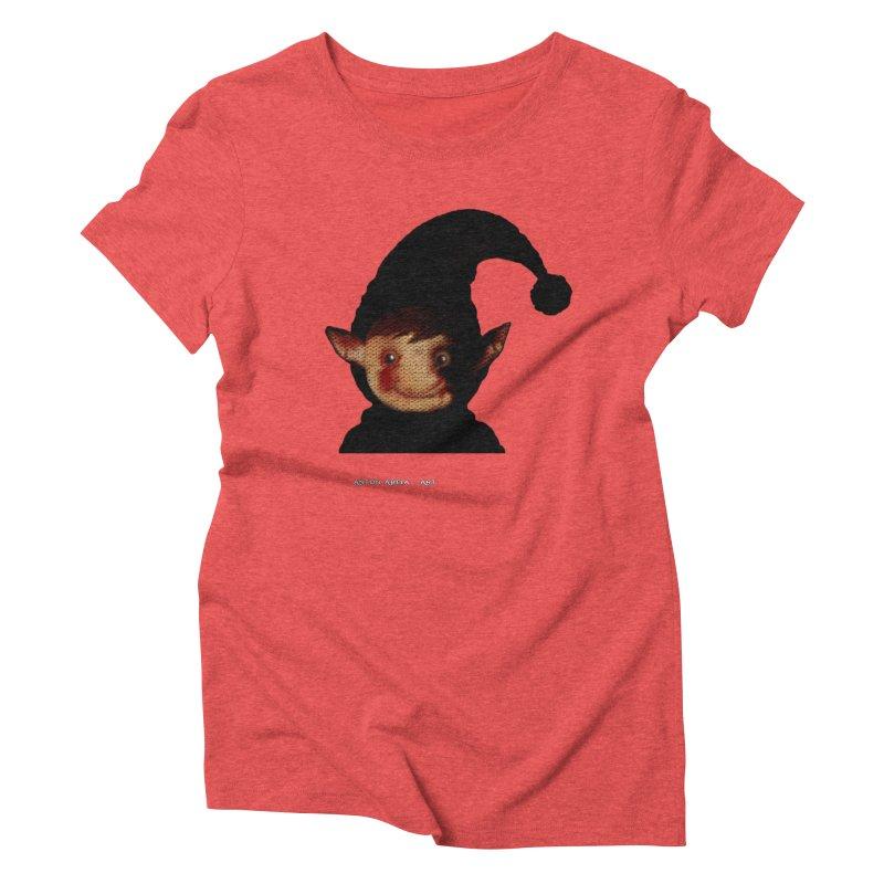 Bloody Dark Xmas Women's Triblend T-shirt by AntonAbela-Art's Artist Shop