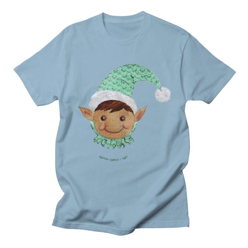 Christmas Elf Women's Unisex T-Shirt by AntonAbela-Art's Artist Shop