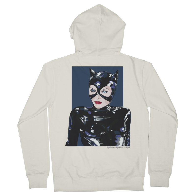 Meow! The Greatest Men's Zip-Up Hoody by AntonAbela-Art's Artist Shop