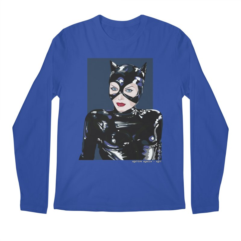 Meow! The Greatest Men's Longsleeve T-Shirt by AntonAbela-Art's Artist Shop